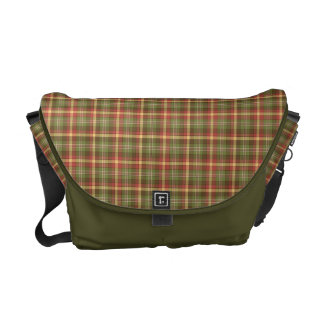 Trendy Plaid Perfection Pattern Courier Bag