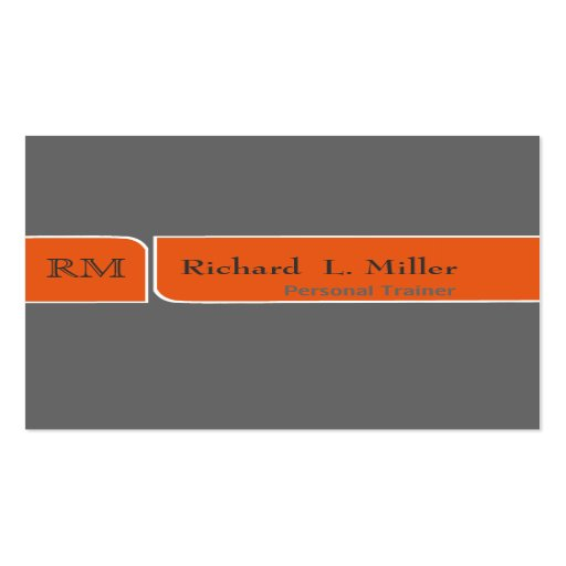 Trendy   Plain Modern Elegant Simple Minimalist Double-Sided Standard Business Cards (Pack Of 100)