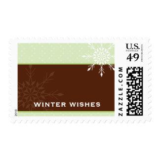 TRENDY POSTAGE STAMP :: magical snowflake 2