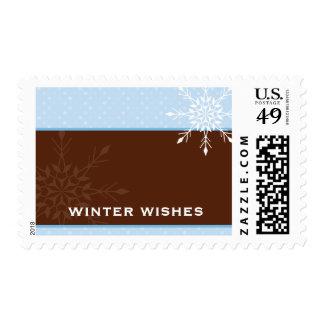 TRENDY POSTAGE STAMP :: magical snowflake 3