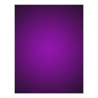 Trendy Purple-Black Grainy Vignette Flyer