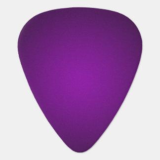 Trendy Purple-Black Grainy Vignette Guitar Pick