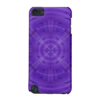 Trendy Purple Circle Pattern iPod Touch (5th Generation) Case