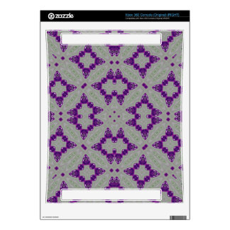 Trendy Purple Pattern Decals For Xbox 360