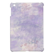 Trendy Purple Watercolor Paint Background Case For The iPad Mini