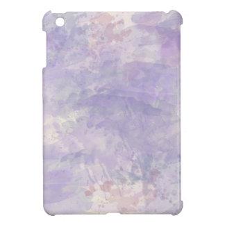Trendy Purple Watercolor Paint Background iPad Mini Covers
