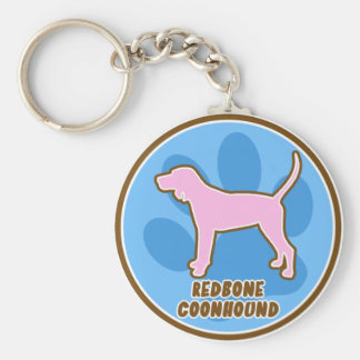 Trendy Redbone Coonhound Keychain