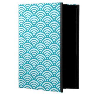 Trendy Retro Oriental Waves Pattern in Turquoise Powis iPad Air 2 Case