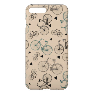 Trendy Retro Style Bicycles Pattern iPhone 7 Plus Case