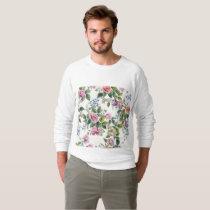trendy,roses,pattern,shabby chic,elegant,girly,bea sweatshirt
