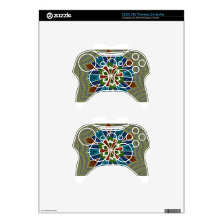 Trendy Sari design Xbox 360 Controller Skin
