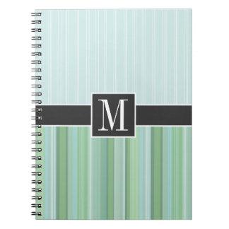 Trendy Seafoam, Sage, & Baby Blue Journal