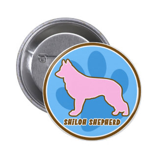 Trendy Shiloh Shepherd 2 Inch Round Button