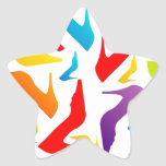 trendy shoes star sticker