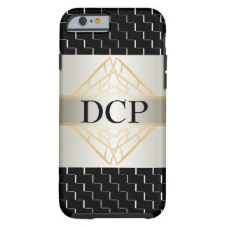 Trendy Silver Black Stunning Fashion CricketDiane Tough iPhone 6 Case