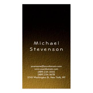 Trendy Simple Plain Business Card