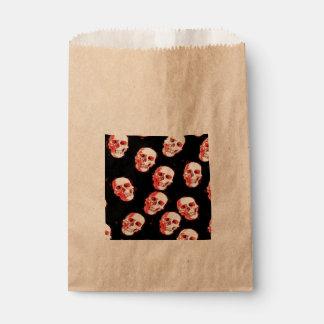 Trendy Skulls Favor Bag