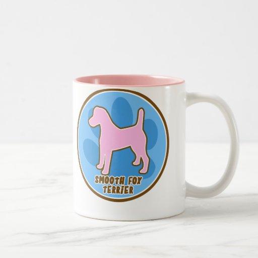Trendy Smooth Fox Terrier Two-Tone Coffee Mug