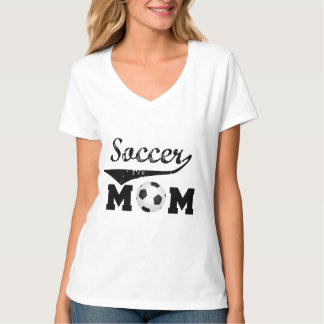 Trendy soccer mom tshirt