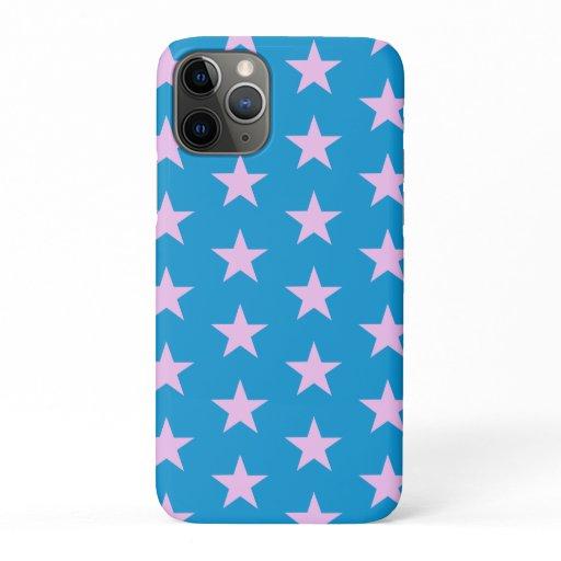 Trendy Star Editable Blue Iphone case