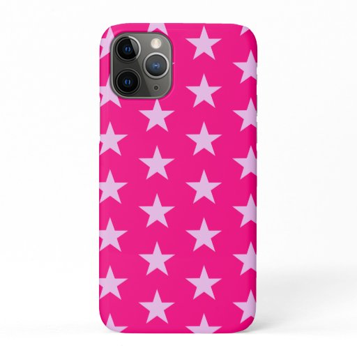Trendy Star Editable Pink Iphone case