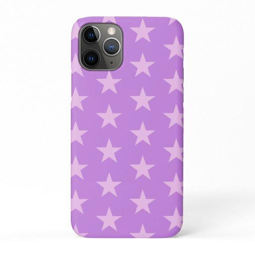 Trendy Star Editable Purple Iphone case
