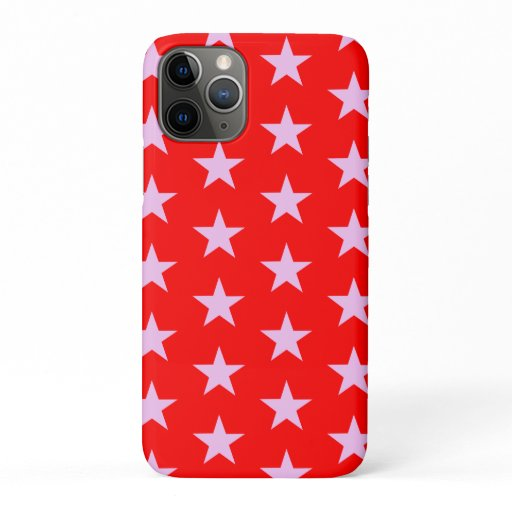 Trendy Star Editable Red Iphone case