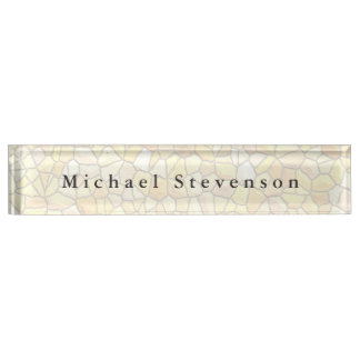 Trendy Stone Wall Design Unique Personal Nameplate