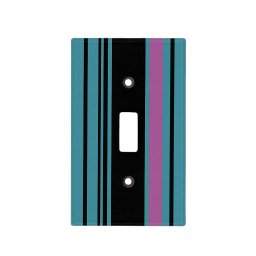 Trendy Striped Light Switch Plate Covers Zazzle