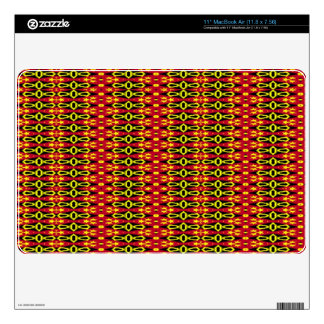 Trendy stylish abstract pattern decals for MacBook