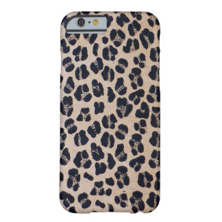 Trendy Stylish Leopard Print, iPhone 6/6s Case