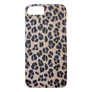 Trendy Stylish Leopard Print, iPhone 7 Case