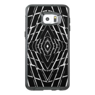 Trendy Stylish Unique Black/White Design OtterBox Samsung Galaxy S6 Edge Plus Case