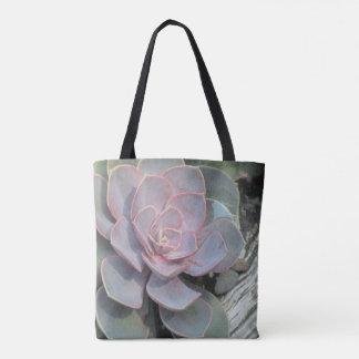 Trendy Succulent Tote Bag