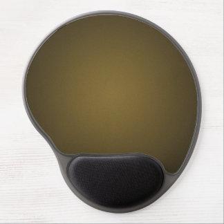 Trendy Tan and Black Grainy Vignette Gel Mouse Pad