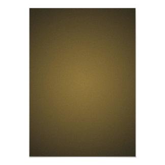 Trendy Tan and Black Grainy Vignette 5x7 Paper Invitation Card