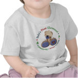 Trendy Teddy Bear Baby's First Christmas Shirts