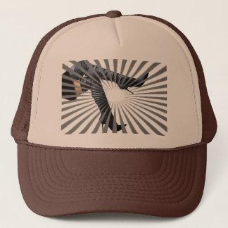 Trendy Thigh High Boot Art Trucker Hat
