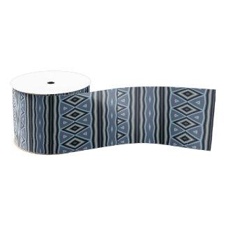 Trendy tribal pattern grosgrain ribbon