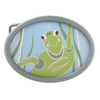 Trendy Turtle Belt Buckle