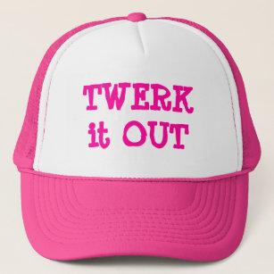 30dc48c7b32 Trendy Twerk it Out Trucker Hat