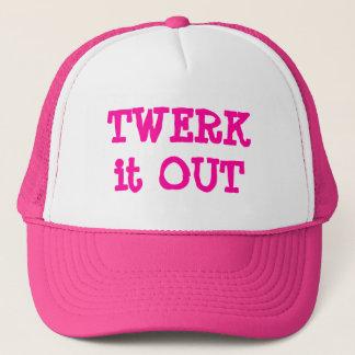 Trendy Twerk it Out Trucker Hat