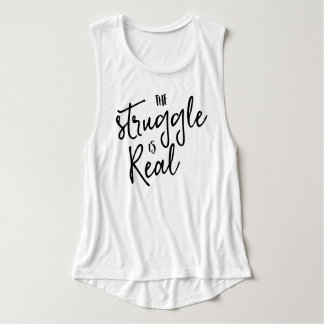 Trendy Typography Funny Saying Tank Top