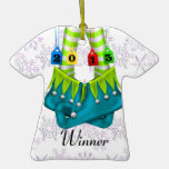 Trendy Ugly Sweater  2013 Winner Party Ornament