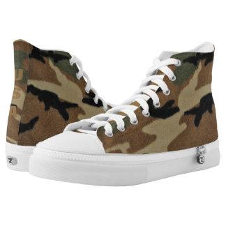 Trendy USA Camo Printed Shoes