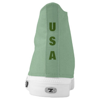 Trendy USA Printed Shoes
