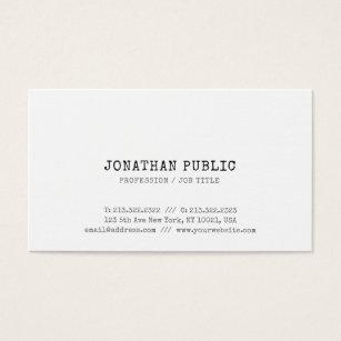 Elite business cards templates zazzle trendy vintage classic look elite design plain business card colourmoves