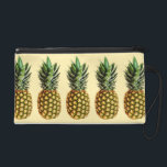 "Trendy vintage pineapple art pattern wristlet bag<br><div class=""desc"">Trendy vintage pineapple art pattern wristlet bag / wallet