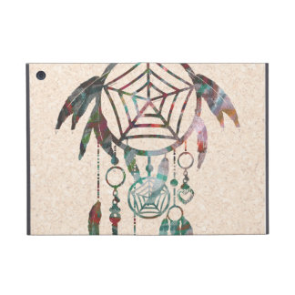 Trendy Watercolor Dream Catcher iPad Mini Cover