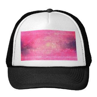 Trendy Watercolor Pink Vintage Arrow Pattern Trucker Hat